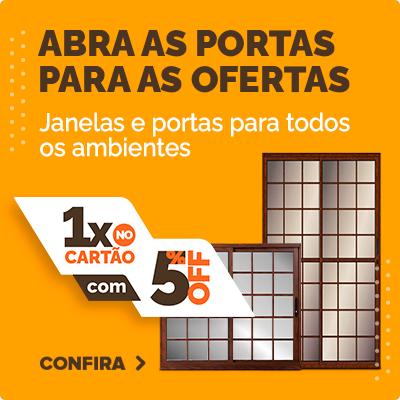 PORTAS E JANELAS - 29 a 11 DE AGOSTO