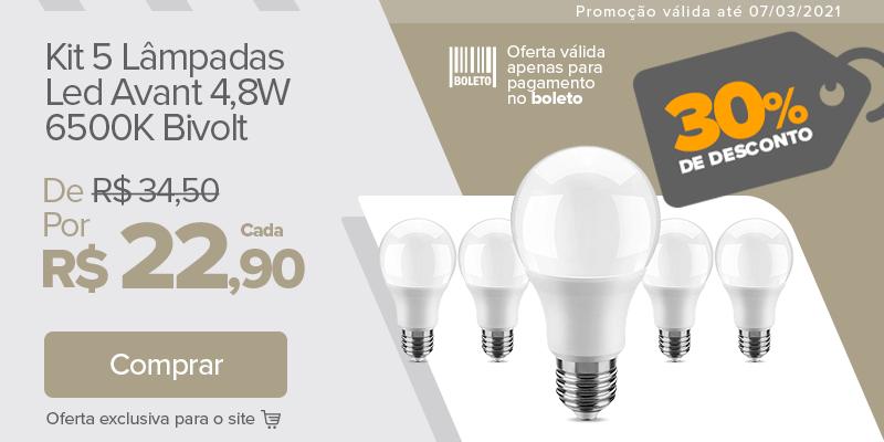01 DE MARÇO - KIT LAMPADAS