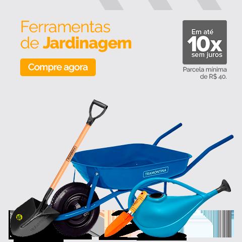 01 DE MARÇO - FERRAMENTAS DE JARDINAGEM