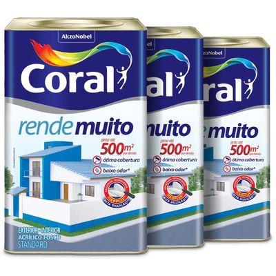 TINTA CORAL LEVE 3 PAGUE MENOS, 590 REAIS