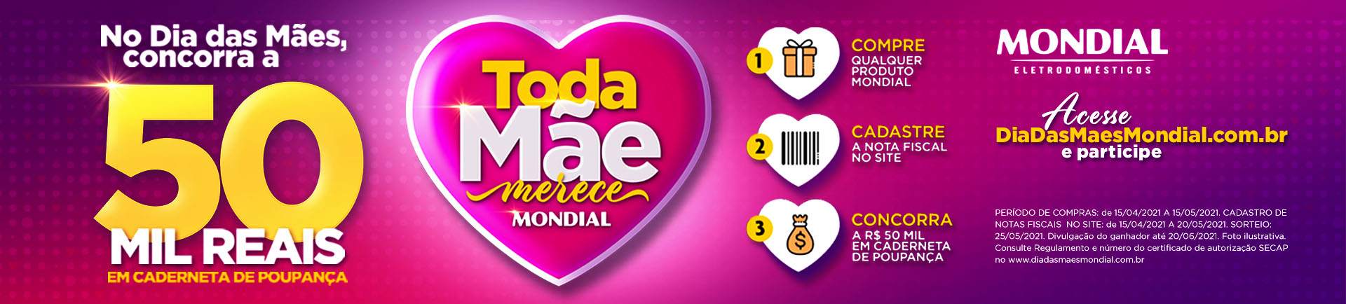 Campanha Mondial - dia das mães desktop